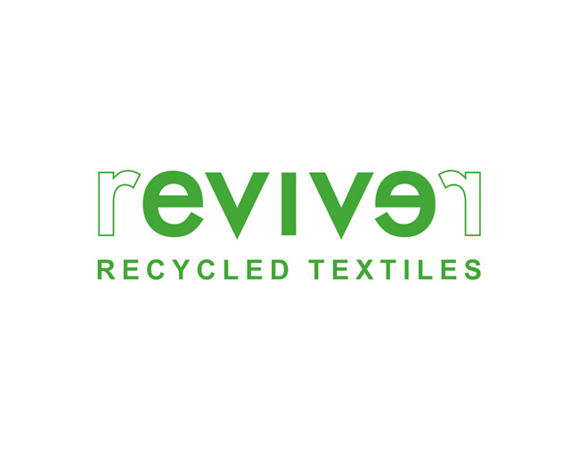 logo revive. recycle textiles